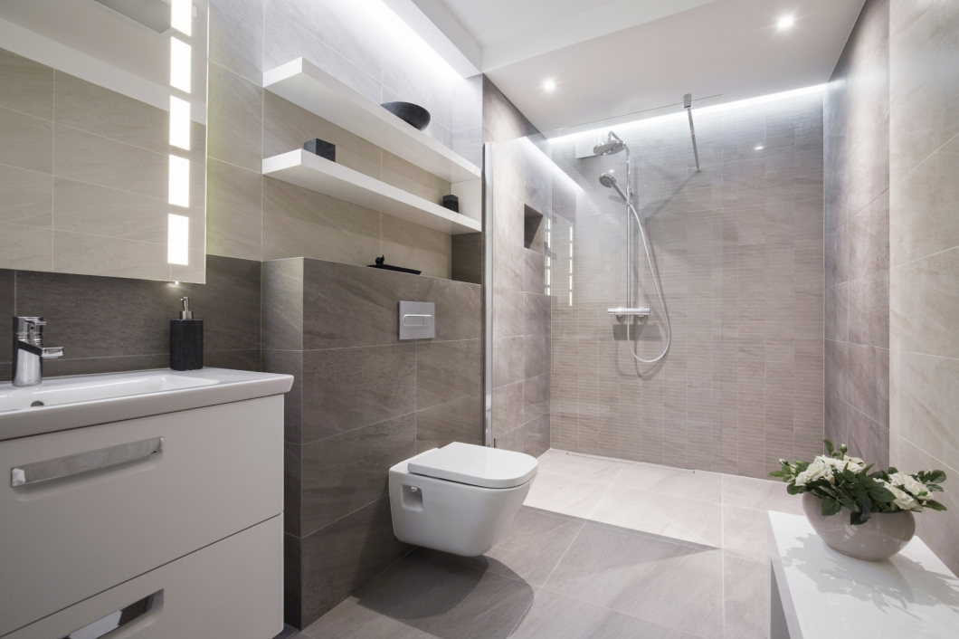 Stylish wet room designs at more bathrooms leeds for Wet room design ideas pictures