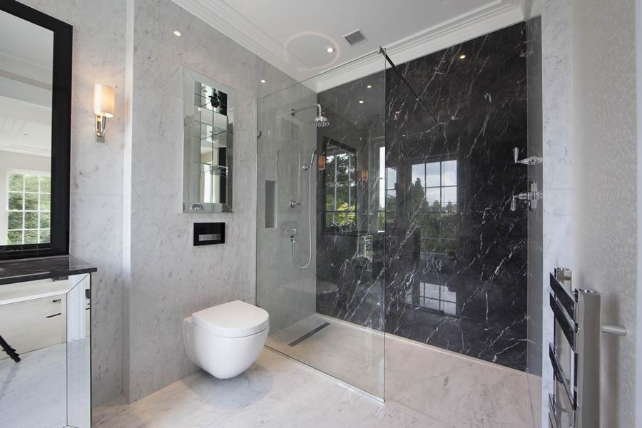 Stylish wet room designs at more bathrooms leeds for Wet room bathroom design ideas